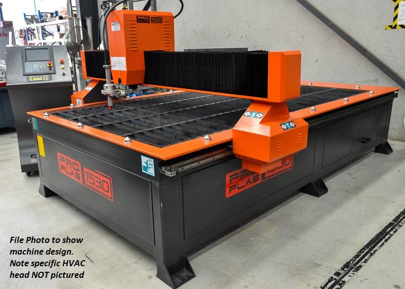 PRO-PLAS 1530 HVAC (45 HYPERTHERM)